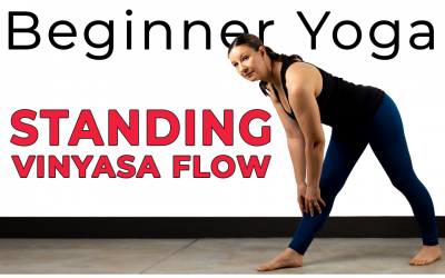 Beginners Standing Yoga Flow in 29 min – Wrist Free Opt