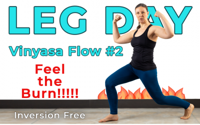Leg Day Vinyasa Flow #2 – Feel the Burn